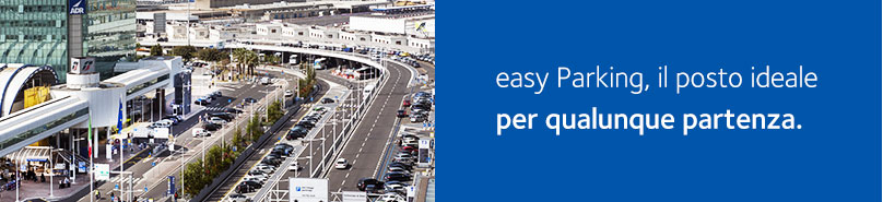 Banner parcheggi Fiumicino easy Parking
