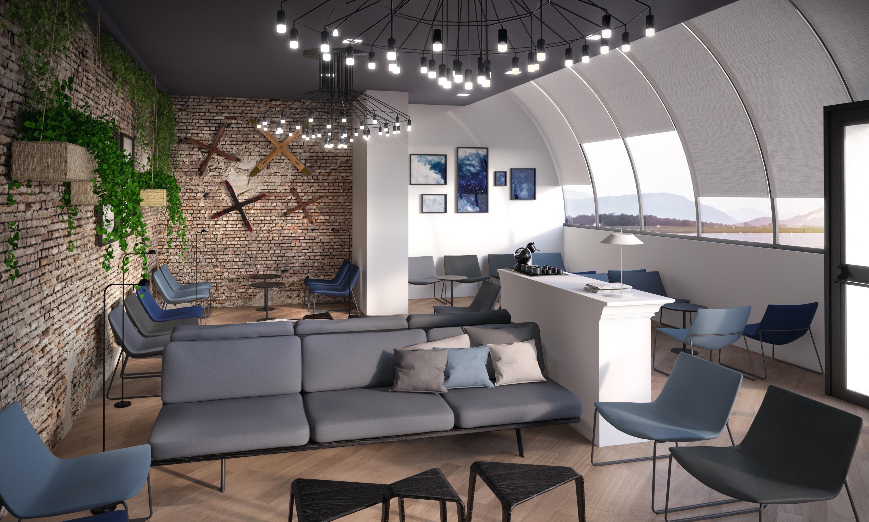 Passenger lounge aeroporti di roma for Interior design roma
