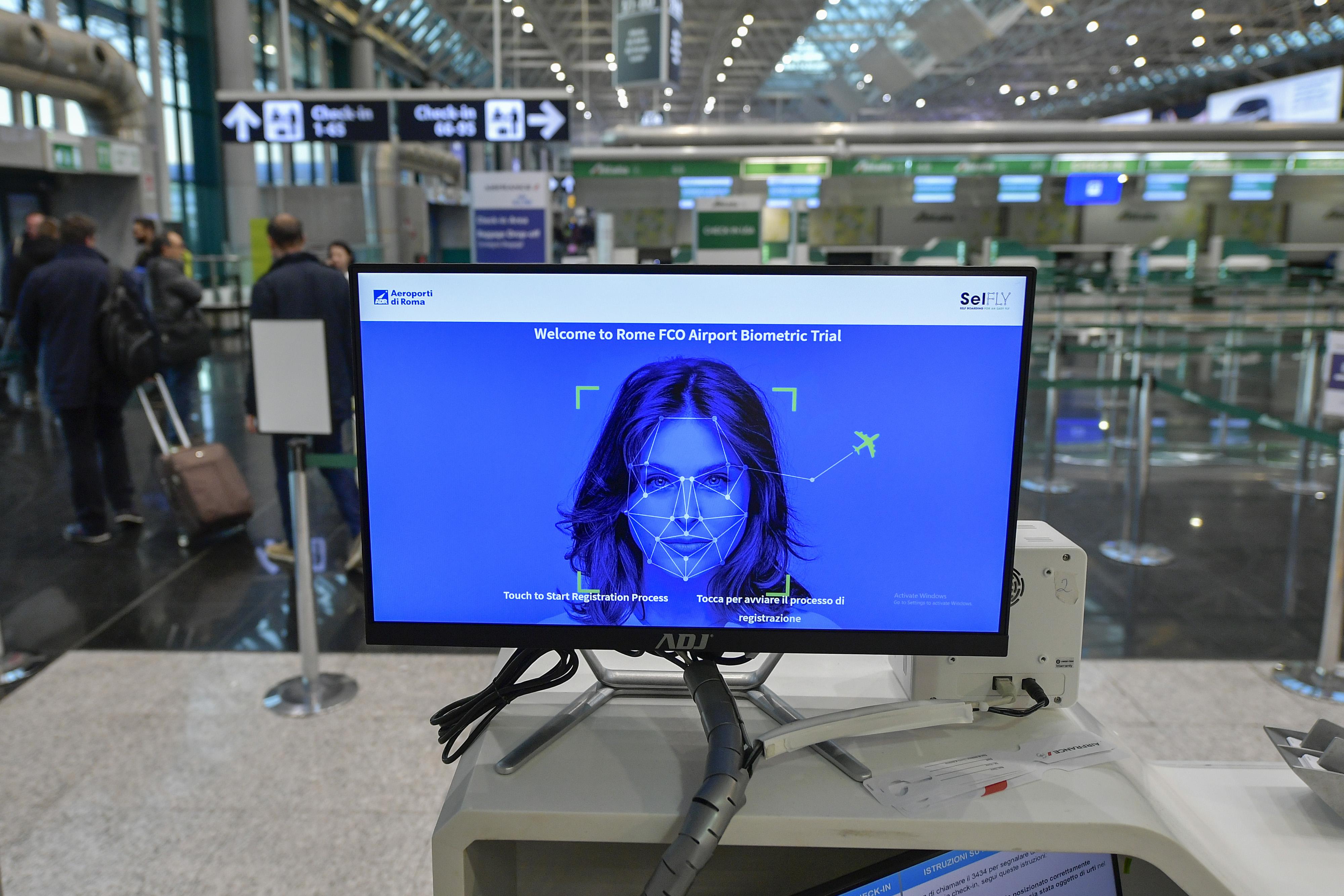 Fiumicino, al via il controllo biometrico al Leonardo Da Vinci