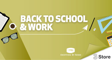 Back to school & work da 3 store