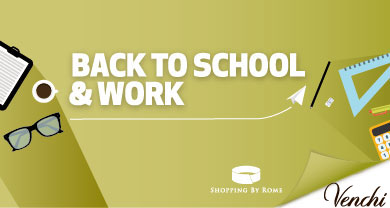 Back to school & work da Venchi