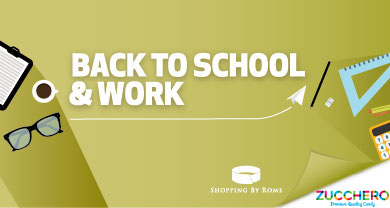 Back to school & work da Zucchero