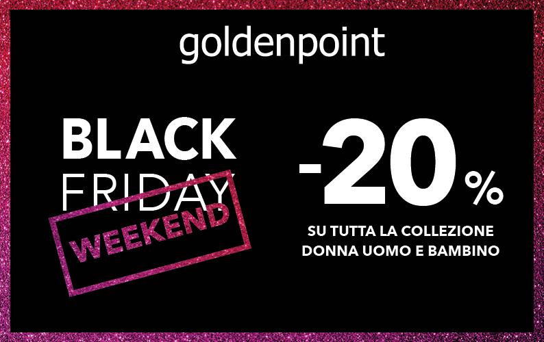 Black friday da goldenpoint aeroporti di roma - Black friday porta di roma ...