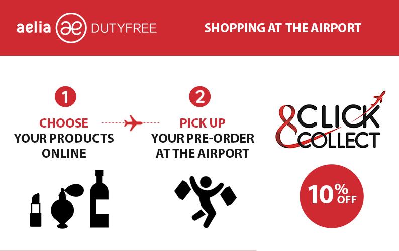 Click&Collect – Aelia Duty Free - Aeroporti di Roma